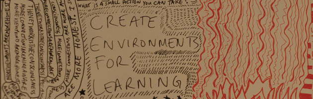 Photo: 'create environments for learning doodle' by Inha Leex Hale
